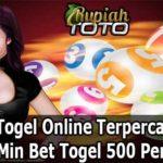 Bandar Togel Online Terpercaya 2020 Min Bet Togel 500 Perak