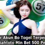 Cara Daftar Akun Bo Togel Terpercaya 2020 Rupiahtoto Min Bet 500 Perak
