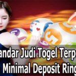 Situs Bandar Judi Togel Terpercaya Dengan Minimal Deposit Ringan 10 Rb
