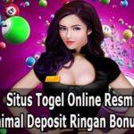 Situs Togel Online Resmi Dengan Minimal Deposit Ringan Bonus Terbesar