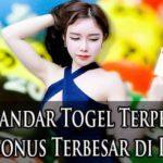 Web Bandar Togel Terpercaya dengan Bonus Terbesar di Indonesia